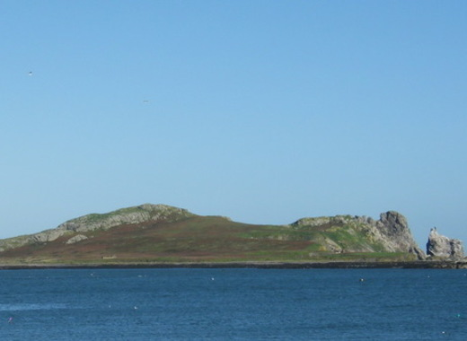 Medium ireland s eye from howth harbour