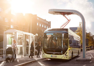 Thumb volvo e bus