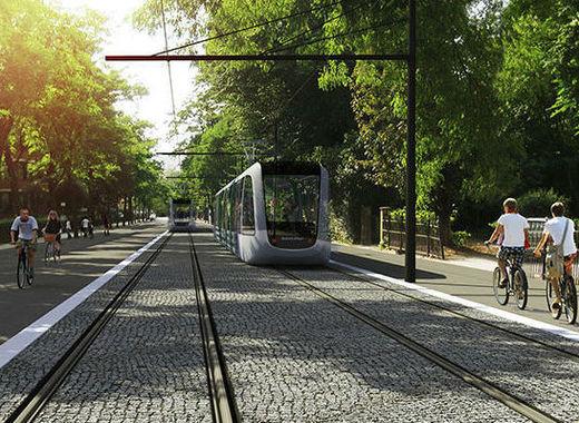 Medium lund tram