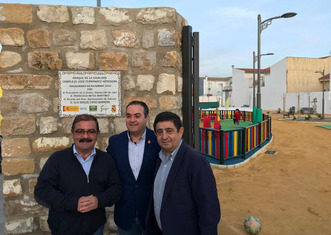 Thumb 1800 square meters of green area in sabiote inaugurated in the end of december