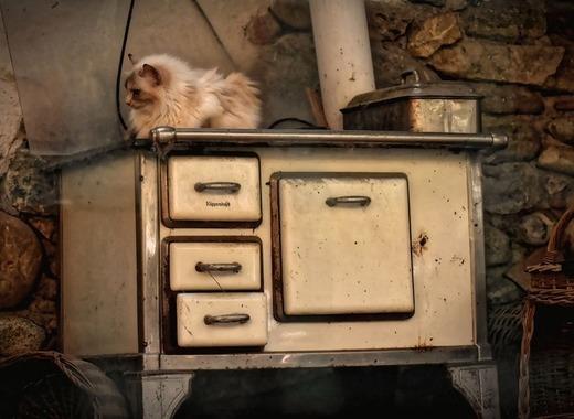 Medium wood stove