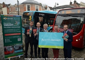 Thumb a smartzone for buses in high wycombe