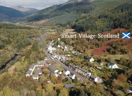Medium smart village scotland