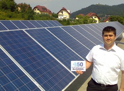 Medium integration of renewable energy source into slovenian distribution network through a new project