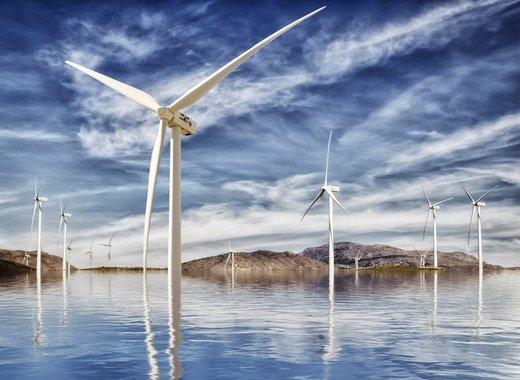 Medium offshore wind farm