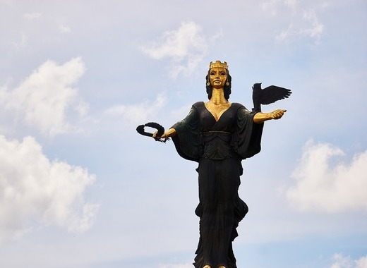Medium sofia statue
