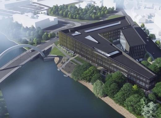Medium delta building tartu university