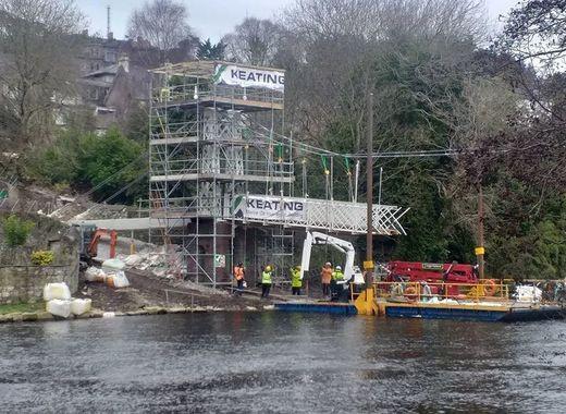 Medium cork bridge reconstruction