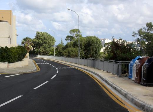 Medium reconstruction of streets in malta 1