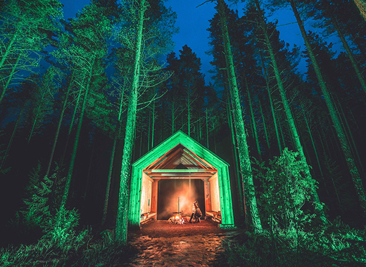 Medium pic 1 church stone shelter in kintulammi nature reserve   tampere finland joins tourism ireland s global greening