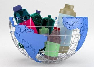 Thumb plasticircle project for circular economy