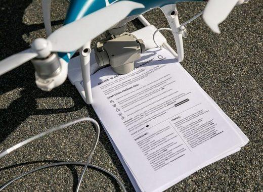 Medium city of vilnius uses drones to fight coronavirus