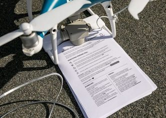 Thumb city of vilnius uses drones to fight coronavirus