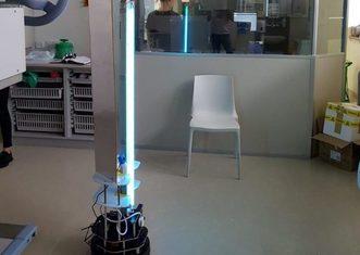 Thumb robot violet