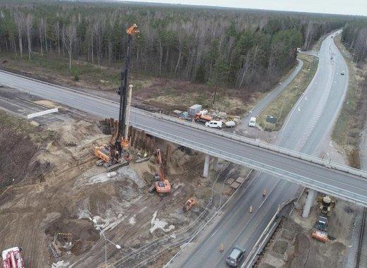 Medium estonia roadworks