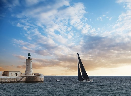 Medium malta sea and sky