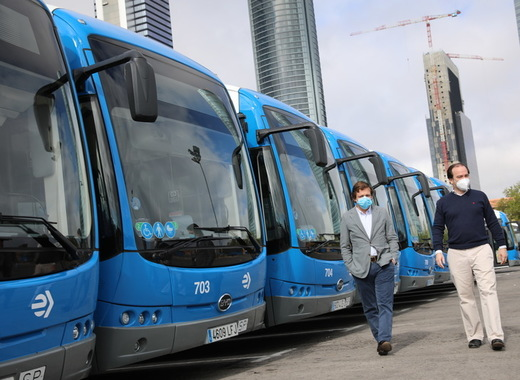 Medium presentation of electric buses   city council of madrid1