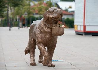 Thumb kaunas st.bernard sculpture