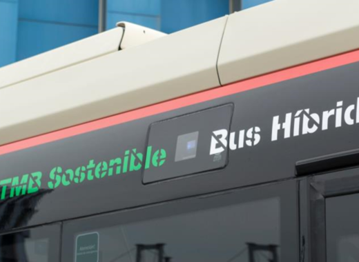 Medium bus hibrid tmb logo