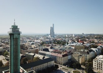 Thumb tallest building in czechia   visualisation   city of ostrava