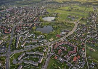 Thumb aerial view of tychy