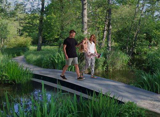 Medium worlds first 3d printed frp footbridge   royalhaskoning