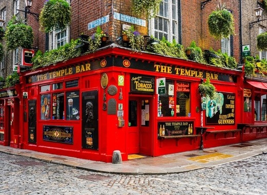 Medium dublin temple bar