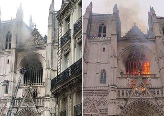 Thumb fire at the nantes cathedral   fondation du patrimoine