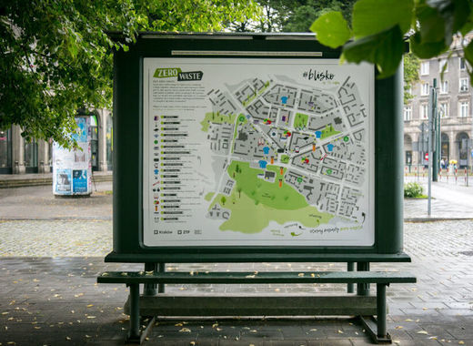 Medium zero waste maps nowa huta  krakow