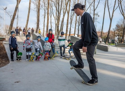 Medium porto skate park