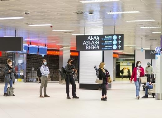 Medium budapest airport amid coronavirus