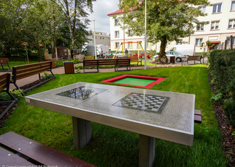 Thumb pocket park bialystok