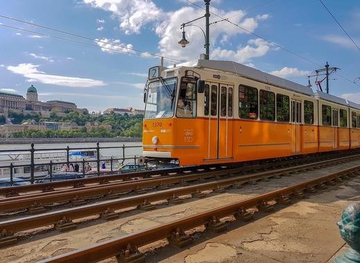 Medium budapest tram