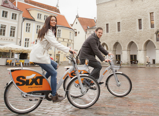 Medium tallin   rent a bike