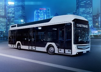 Thumb caetano fuel cell bus
