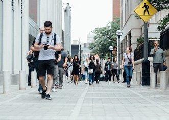 Thumb pedestrians