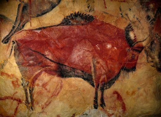 Medium altamira bison