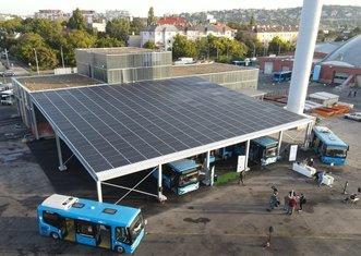 Thumb budapest buses solar panels