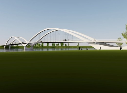 Medium parnu swan bridge 3d visuaal 2