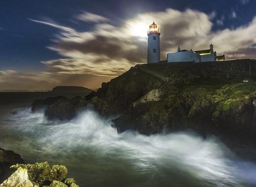 Medium donegal lighthouse
