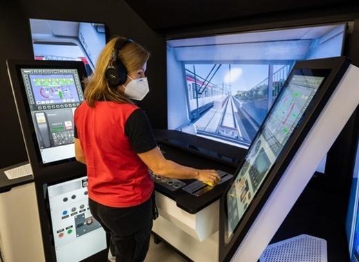 Medium metro train simulator