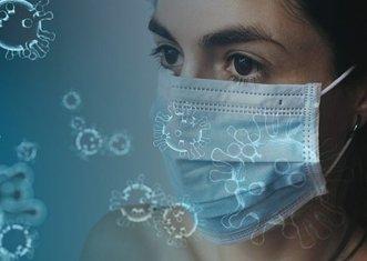 Thumb coronavirus mask