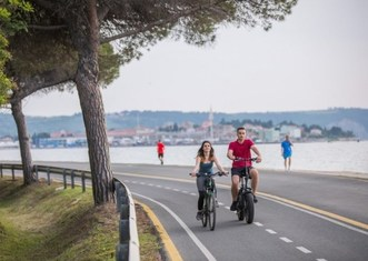 Thumb cycling route   municipality of izola