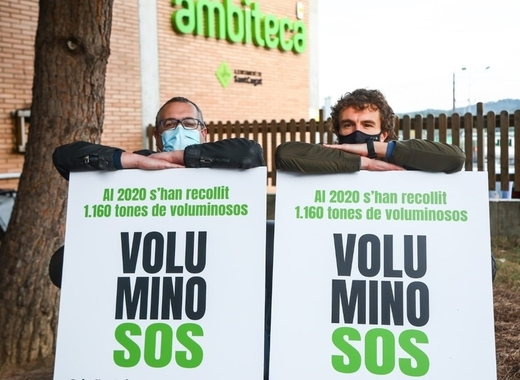 Medium sant cugat bulk waste campaign