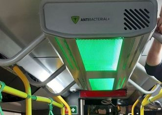 Thumb air purification system for public transport   mpk %c5%81%c3%b3d%c5%ba