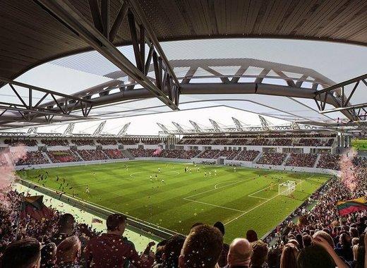 Medium vilnius new national stadium