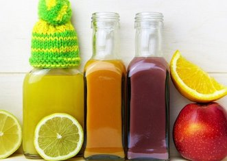 Thumb fruit juices