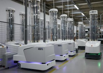 Thumb disinfection robots ec
