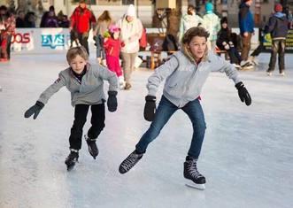 Thumb ice skating