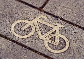 Thumb cycle path